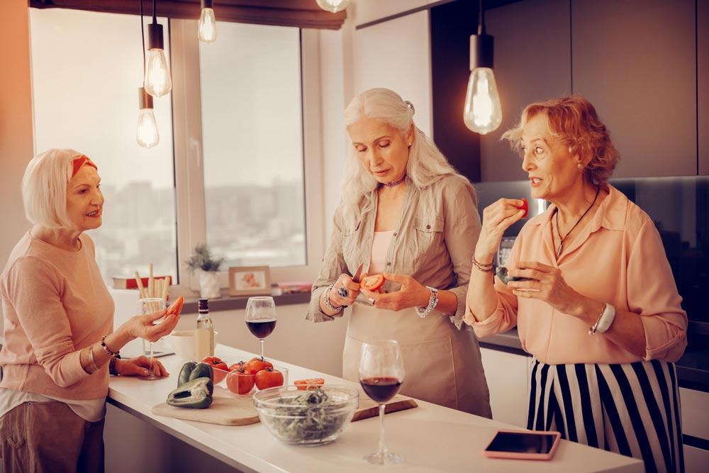 Die Seniorenwohnung