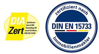 Logo DIA zertifiziert